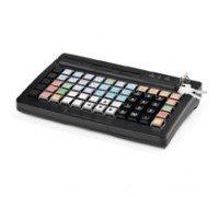 Программируемая клавиатура АТОЛ KB-76-KU черная c ридером магнитных карт