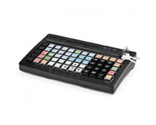 Программируемая клавиатура АТОЛ KB-50-U черная c ридером магнитных карт
