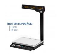 Весы MK-6.2-TH21(RU) электронные торговые со стойкой до 6 кг