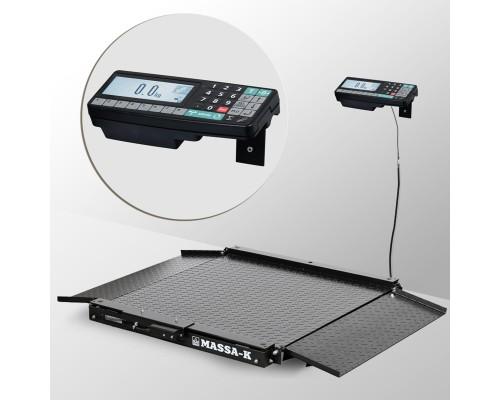 Весы 4D-LA-10/10-1500-RA напольные электронные низкопрофильные до 1500 кг