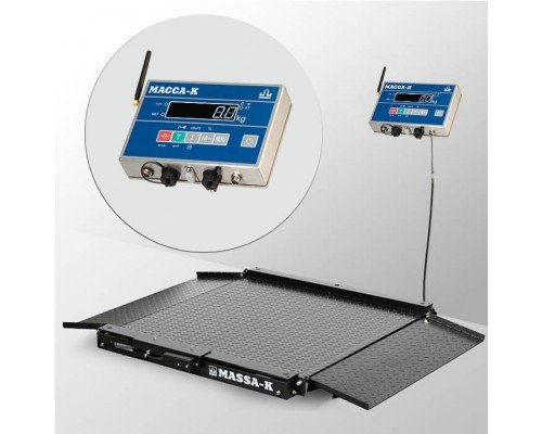 Весы 4D-LA-10/10-1500-AB(RUEW) напольные электронные низкопрофильные до 1500 кг