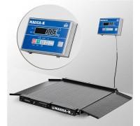 Весы 4D-LA-10/10-1500-AB напольные электронные низкопрофильные до 1500 кг