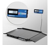 Весы 4D-LA-15/12-2000-A(RUEW) напольные электронные низкопрофильные до 2000 кг