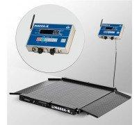 Весы 4D-LA-15/12-2000-AB(RUEW) напольные электронные низкопрофильные до 2000 кг