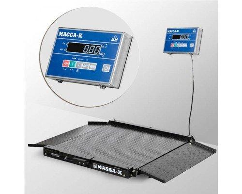 Весы 4D-LA-15/12-2000-AB напольные электронные низкопрофильные до 2000 кг