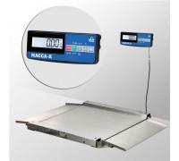 Весы 4D-LA.S-10/10-1500-A(RUEW) напольные электронные низкопрофильные до 1500 кг