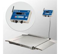 Весы 4D-LA.S-10/10-1500-AB(RUEW) напольные электронные низкопрофильные до 1500 кг