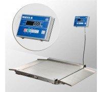 Весы 4D-LA.S-10/10-1500-AB напольные электронные низкопрофильные до 1500 кг