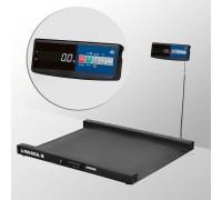 Весы 4D-LM-10/10-2000-A напольные электронные низкопрофильные до 2000 кг