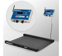 Весы 4D-LM-10/10-2000-AB(RUEW) напольные электронные низкопрофильные до 2000 кг