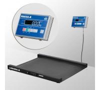 Весы 4D-LM-10/10-2000-AB напольные электронные низкопрофильные до 2000 кг