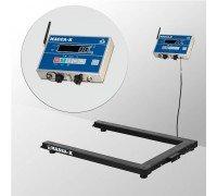 Весы 4D-U-1-1000-AB(RUEW) электронные паллетные до 1000 кг
