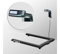 Весы 4D-U-1-1000-RL электронные паллетные с печатью этикеток до 1000 кг