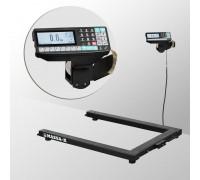 Весы 4D-U-1-1000-RP электронные паллетные с печатью этикеток до 1000 кг