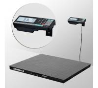 Весы 4D-PM-15/15-2000-RA электронные платформенные напольные до 2000 кг