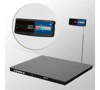 Весы 4D-PM-12/12-1000-A электронные платформенные напольные до 1000 кг