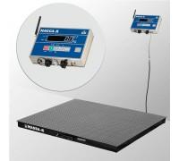 Весы 4D-PM-12/12-2000-AB(RUEW) электронные платформенные напольные до 2000 кг