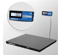 Весы 4D-PM-15/15-2000-A(RUEW) электронные платформенные напольные до 2000 кг