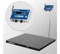 Весы 4D-PM-15/15-2000-AB(RUEW) электронные платформенные напольные до 2000 кг
