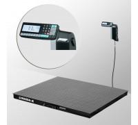 Весы 4D-PM-12/12-3000-RL платформенные напольные с печатью этикеток до 3000 кг