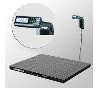 Весы 4D-PM-15/15-3000-RL платформенные напольные с печатью этикеток до 3000 кг