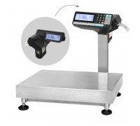 Весы TB-5040N-32.2-R2P3 со стойкой напольные с печатью этикеток до 32 кг