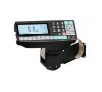 Весы ТВ-M-600.2-R2P3 с печатью этикеток со стойкой напольные до 600 кг