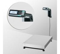 Весы ТВ-M-60.2-RL1 с печатью этикеток со стойкой напольные до 60 кг
