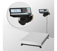 Весы ТВ-M-300.2-RP1 с печатью этикеток без стойки напольные до 300 кг