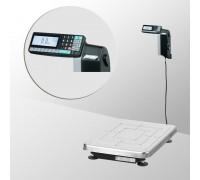 Весы TB-S-60.2-RL1 с печатью этикеток со стойкой напольные до 60 кг