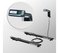 Весы 4D-B-12/1-1000-RL электронные стержневые с печатью этикеток до 1000 кг