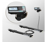 Весы 4D-B-12/1-1000-RP электронные стержневые с печатью этикеток до 1000 кг