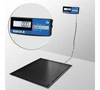Весы 4D-PMF-20/15-1000-A(RUEW) электронные платформенные врезные до 1000 кг