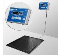 Весы 4D-PMF-20/15-1000-AB электронные платформенные врезные до 1000 кг