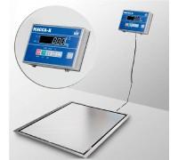 Весы 4D-PMF.S-12/10-1000-AB врезные напольные электронные до 1000 кг
