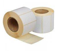 Этикетки 58*40 мм чистые 700 штук в рулоне
