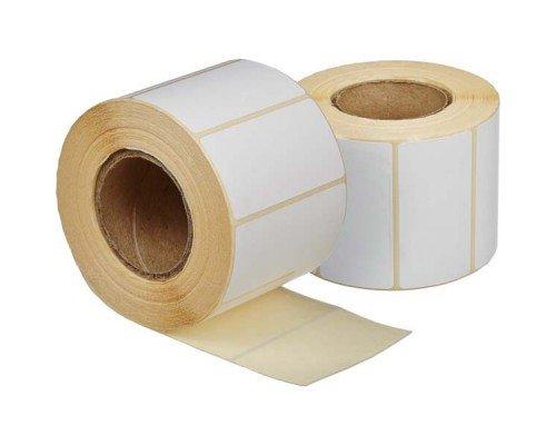 Этикетки 58*30 мм чистые 900 штук в рулоне