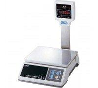 Весы CAS SWII-02 P электронные фасовочные со стойкой до 2 кг