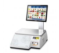 Весы CAS CL7000-15S с печатью этикеток самообслуживания