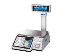 Весы CAS CL3000-30P с печатью этикеток со стойкой