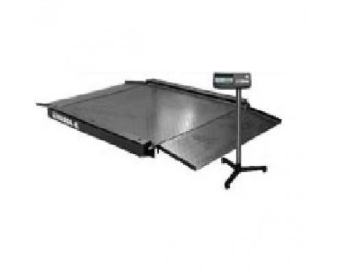 Весы 4D-LA-2-1000-А электронные платформенные напольные с пандусом до 1000 кг