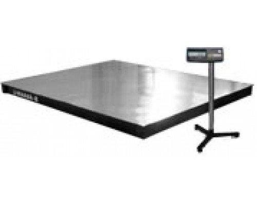 Весы 4D-P.SP-3-1000-А электронные платформенные напольные до 1000 кг