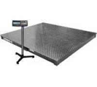 Весы 4D-P-3-2000-А электронные платформенные напольные до 2000 кг