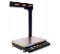 Весы МК-15.2-ТН21 электронные торговые со стойкой до 15 кг