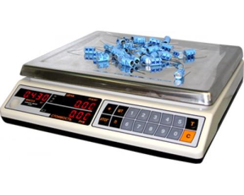 Весы ВР05 МС-32/2-АВ электронные торговые без стойки до 32 кг