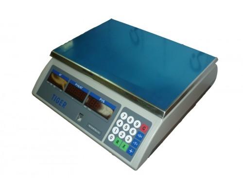 Весы Tiger TIGE-E-2200-069 Mettler Toledo электронные торговые без стойки до 6 кг