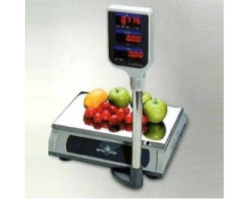Весы Tiger TIGE-E-3201-069 Mettler Toledo электронные торговые со стойкой до 15 кг