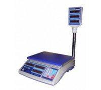 Весы МТ 15 МГЖА-7/НК Алекса электронные торговые до 15кг со стойкой