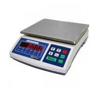 Весы Мидл МТ 30 В1ДА 5/10/230х320 Ф-стандарт электронные фасовочные без стойки до 30 кг