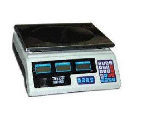 Весы Мидл МТ 30 В1ЖА/10/340х230 Базар электронные фасовочные до 30 кг